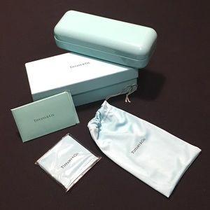 Authentic Tiffany & Co. glasses case bundle
